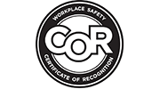 Certificate of Recognition of Workplace Safety (COR)